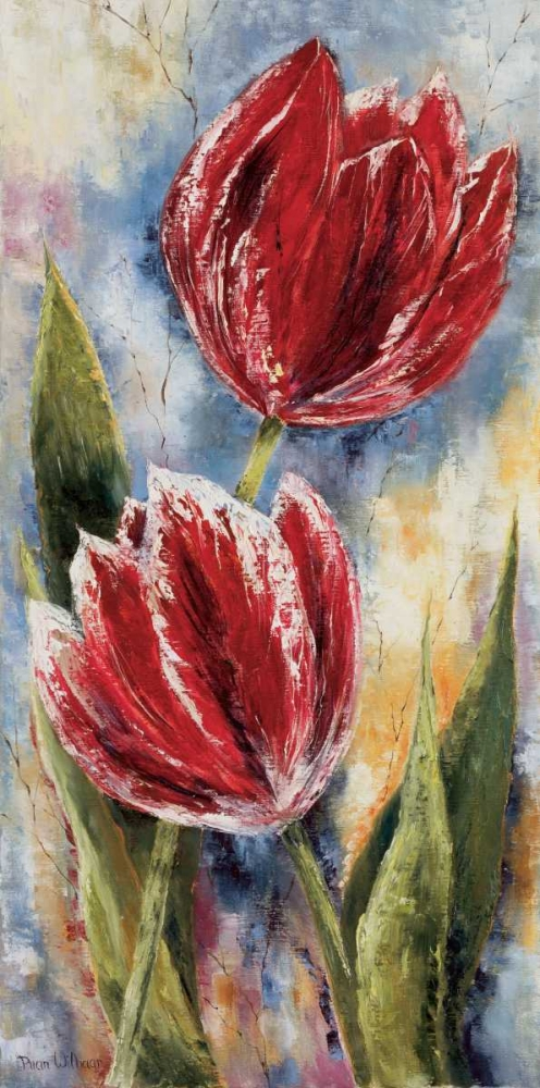 Red tulips Withaar, Rian 58041
