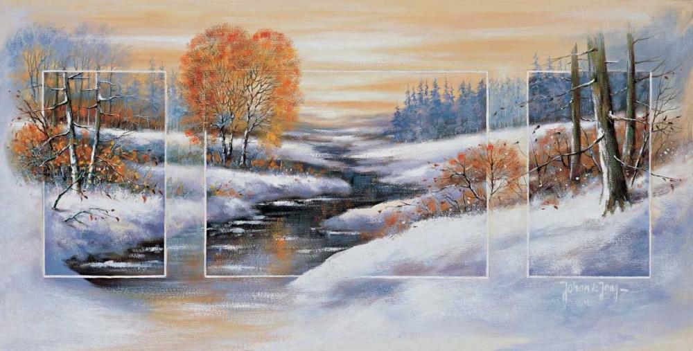 Winter triptychon de Jong, Johan 58081