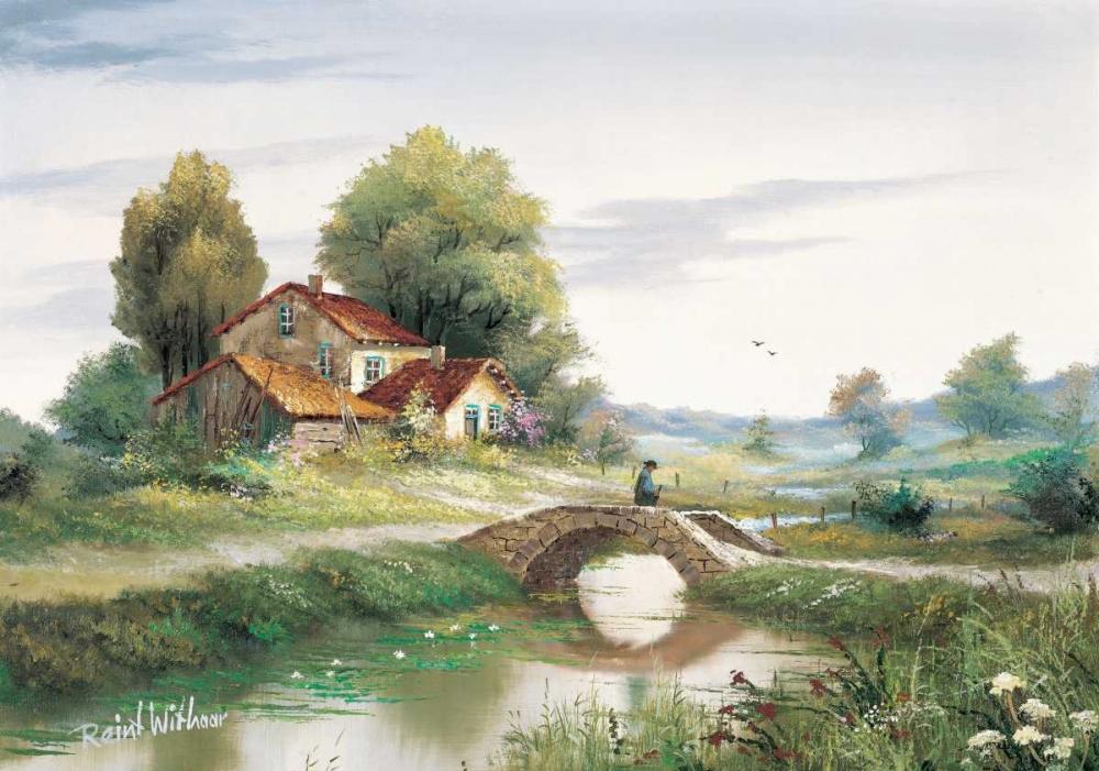 The bridge Withaar, Reint 58689