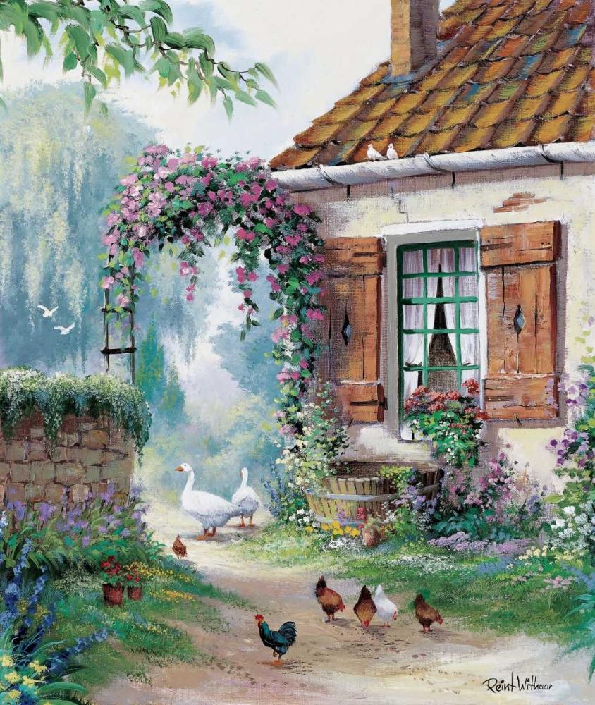 The farmers courtyard Withaar, Reint 58705
