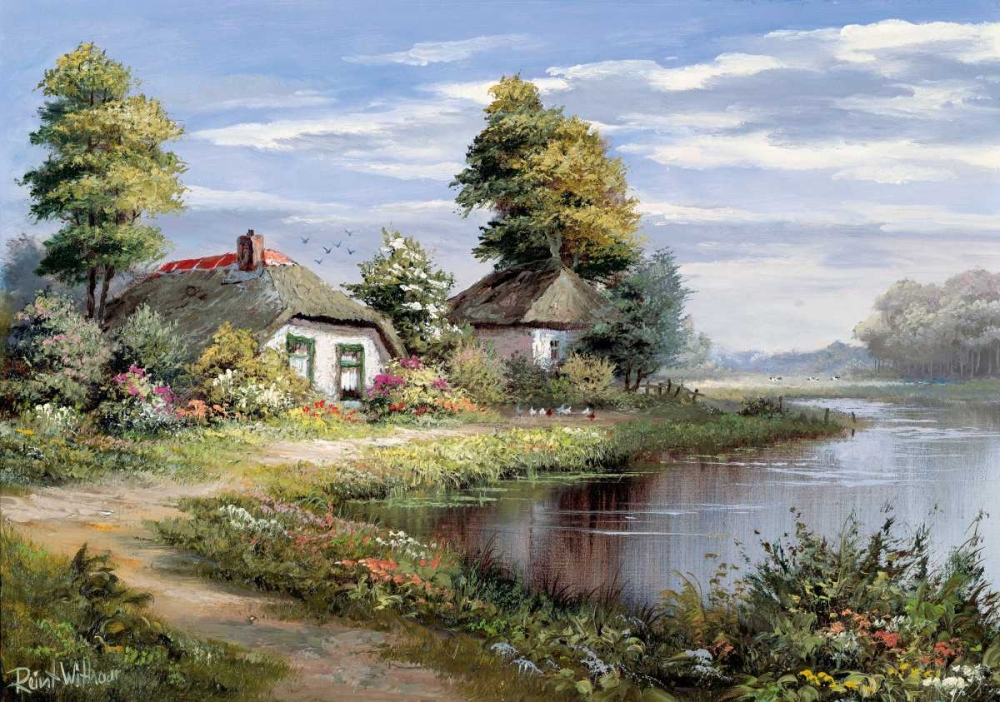 Living at the waterside Withaar, Reint 58713