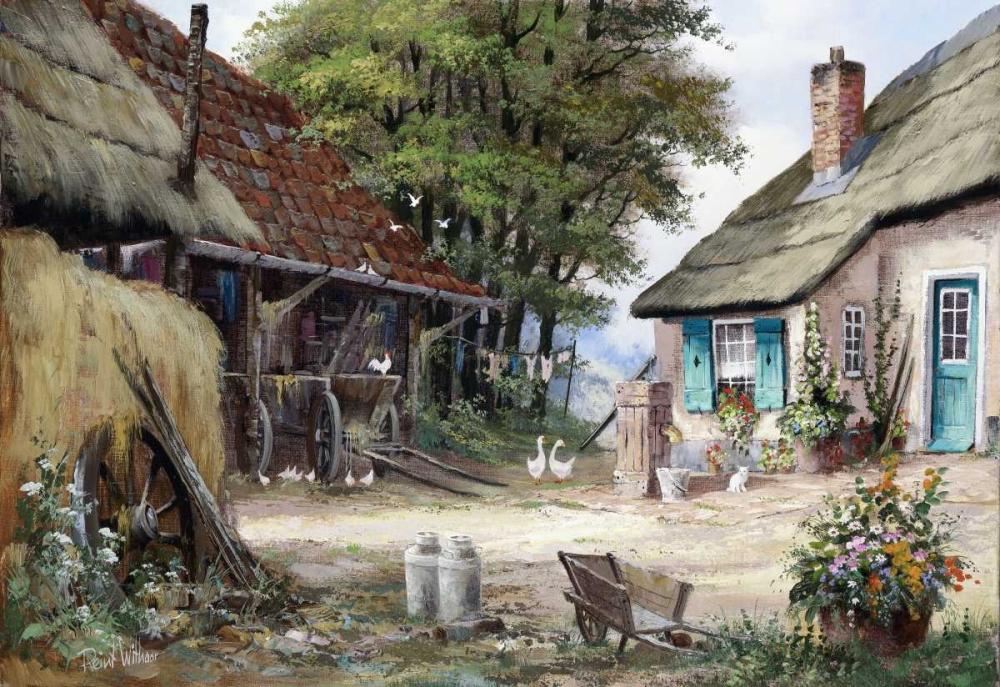 Dutch country scene Withaar, Reint 58749