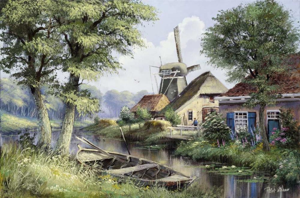Dutch country scene Withaar, Reint 58750