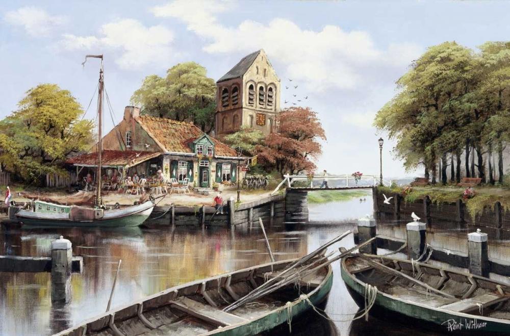 Dutch waterhouse Withaar, Reint 58752