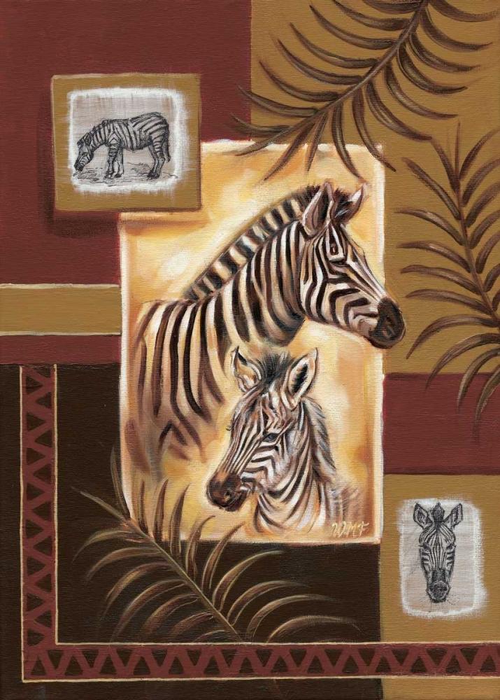 Zebras in Africa Fields, Wendy 58791