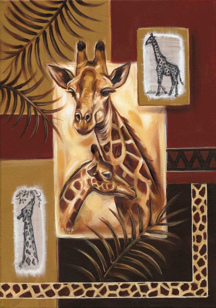 Giraffes in Africa Fields, Wendy 58792