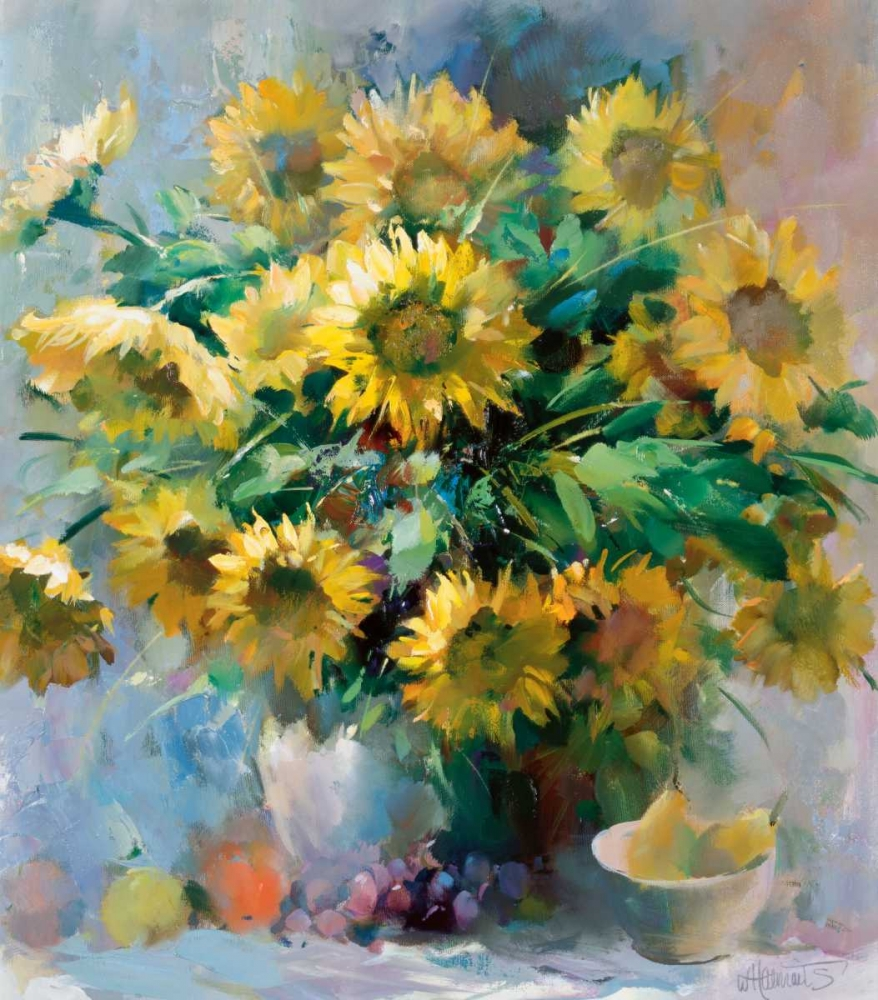 Sunflowers Haenraets, Willem 58875