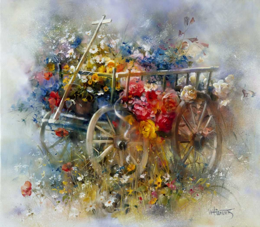 Flower barrow Haenraets, Willem 59001