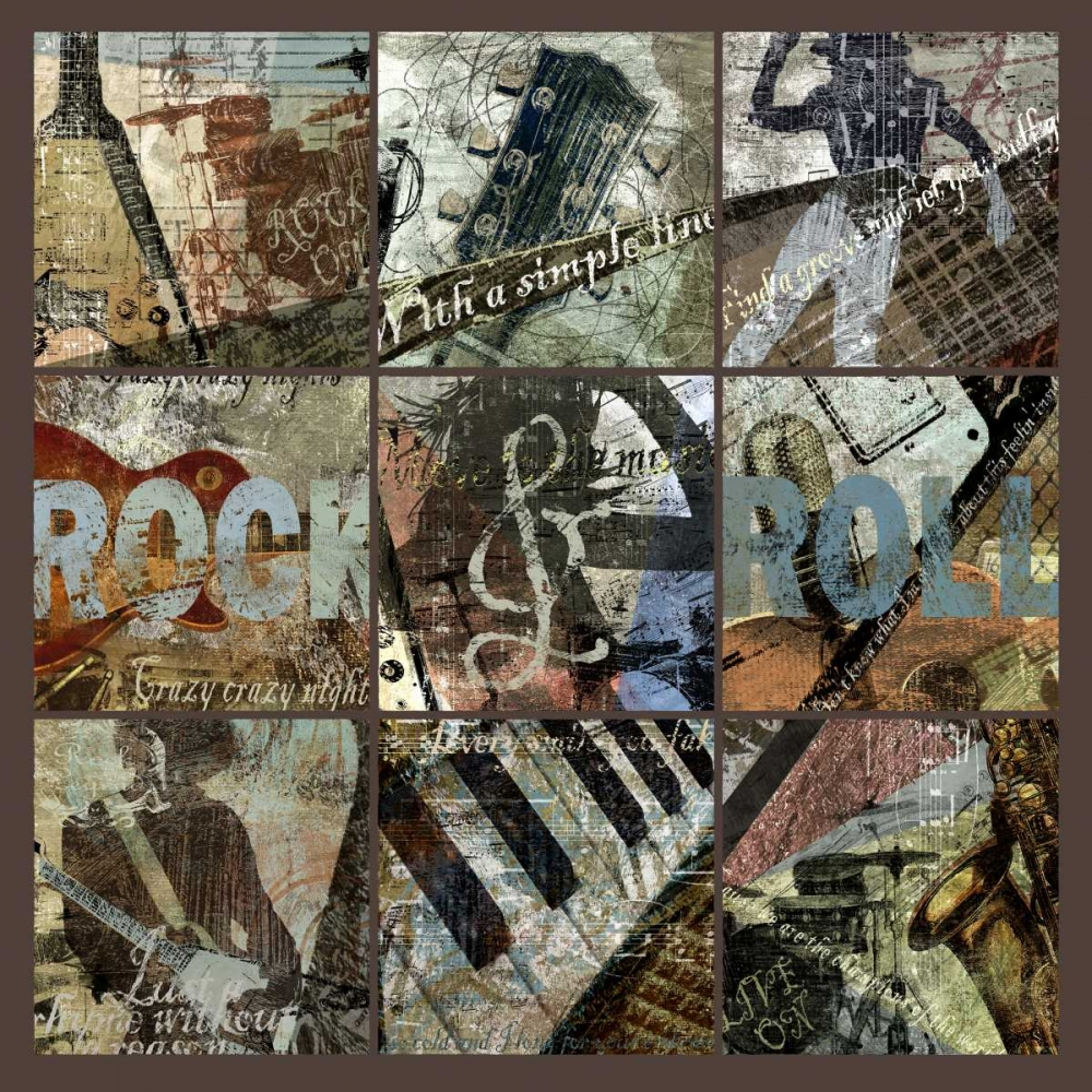 ROCK and ROLL 9-PATCH- with grid Yang, Eric 66965