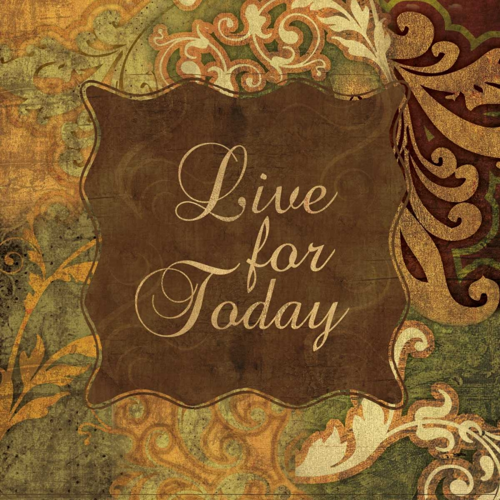 LIVE FOR TODAY Ballantyne, Piper 67122