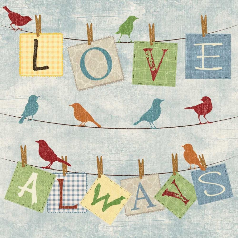 LOVE ALWAYS BIRDS Ballantyne, Piper 67270