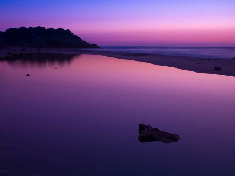 Suntset reflection in water, Palmachim Beach, Israel Frank, Assaf 103175
