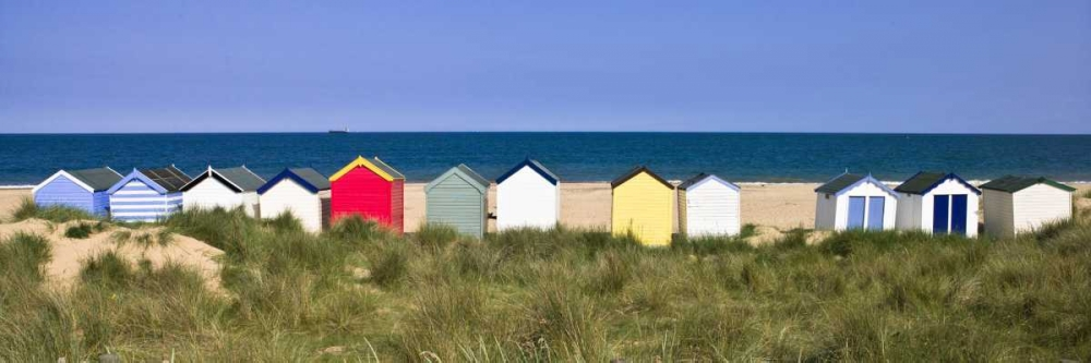 Beach huts in a row Frank, Assaf 103196