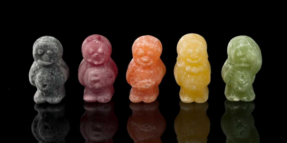 Jelly babies sweets in a row Frank, Assaf 153266