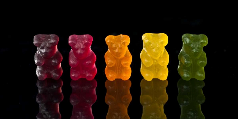 Gummy bears sweets in a row Frank, Assaf 153267