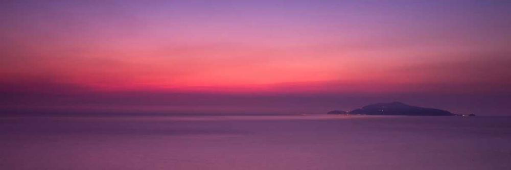 Sunset over the sea Frank, Assaf 103219