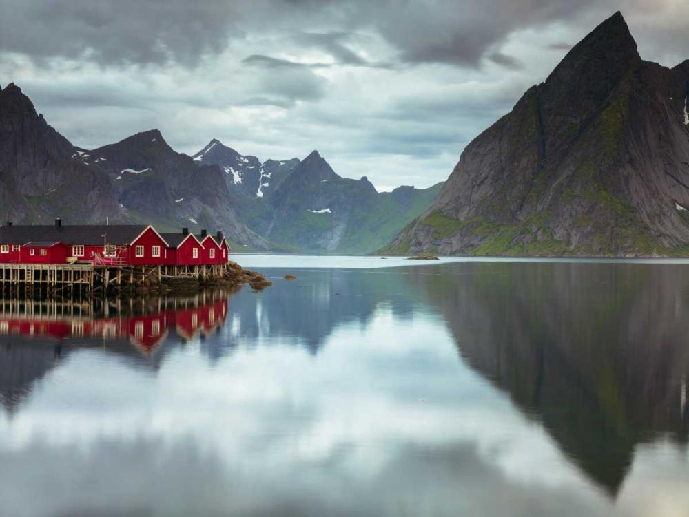 Fishing huts on the waterfront, Lofoten, Norway Frank, Assaf 103254