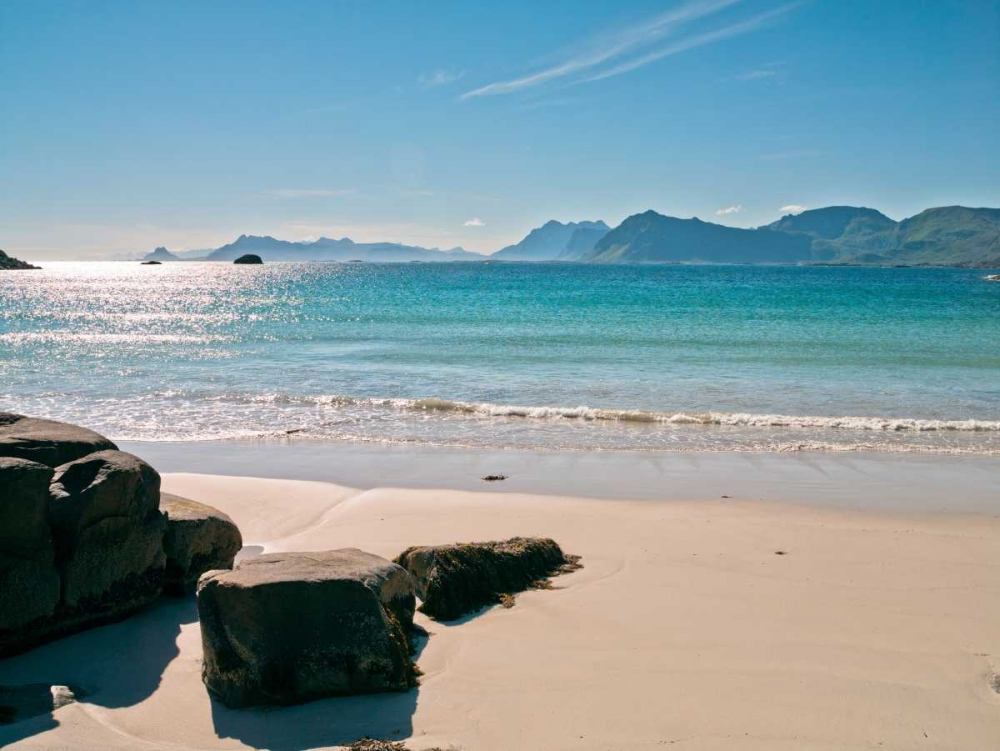 Beautiful beach, Lofoten, Norway Frank, Assaf 103257