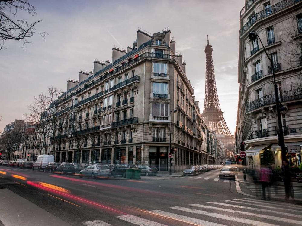 Eiffel tower from city street, Paris, France Frank, Assaf 103356