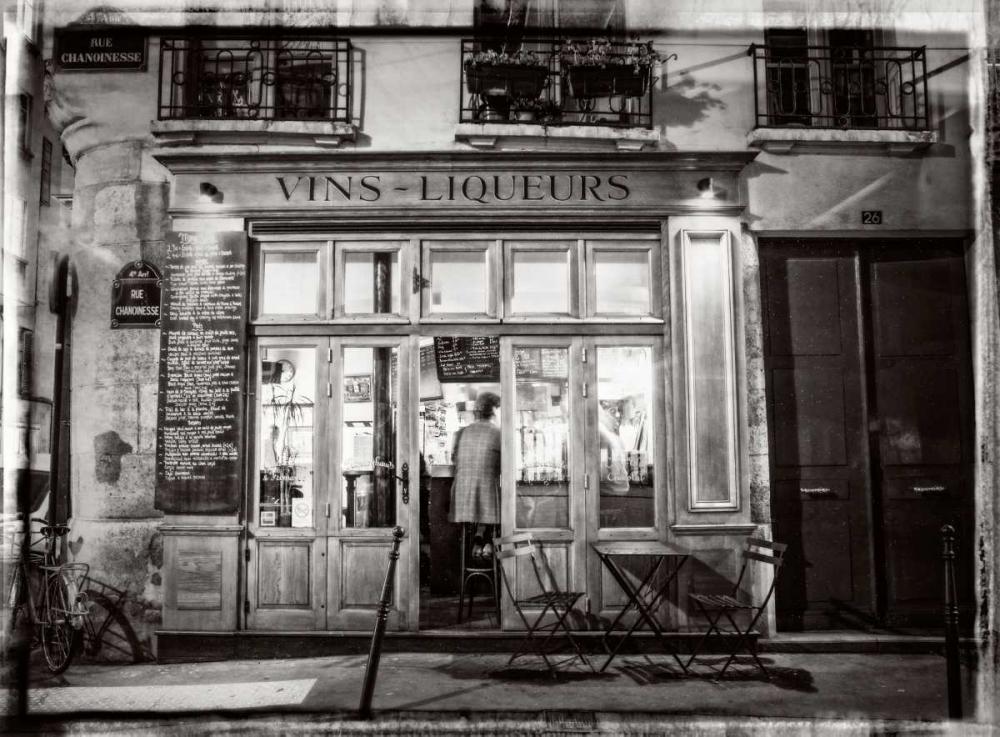 Cafe on street of Montmartre, Paris Frank, Assaf 103371