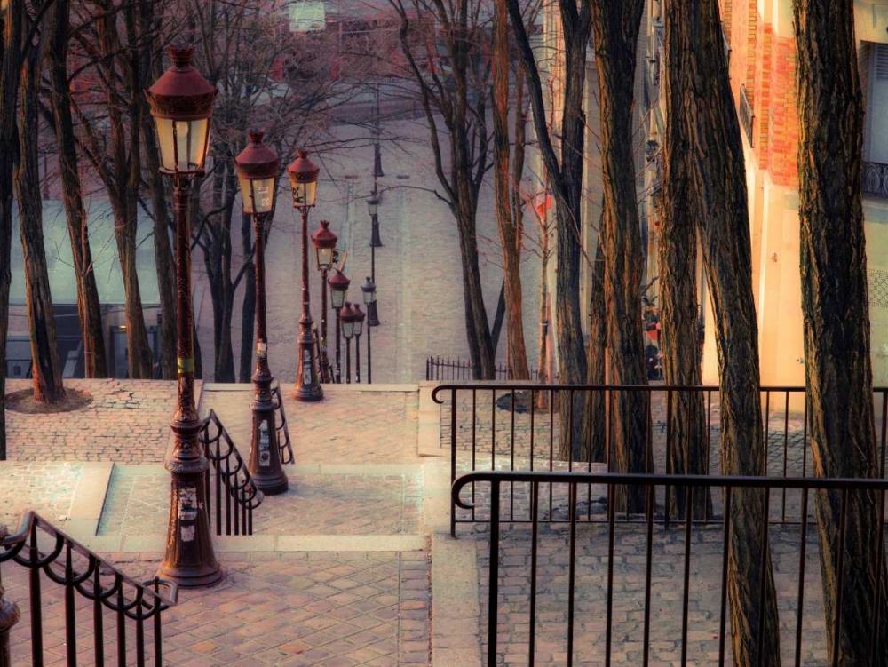 The famous staircase in Montmartre, Paris, France Frank, Assaf 103377