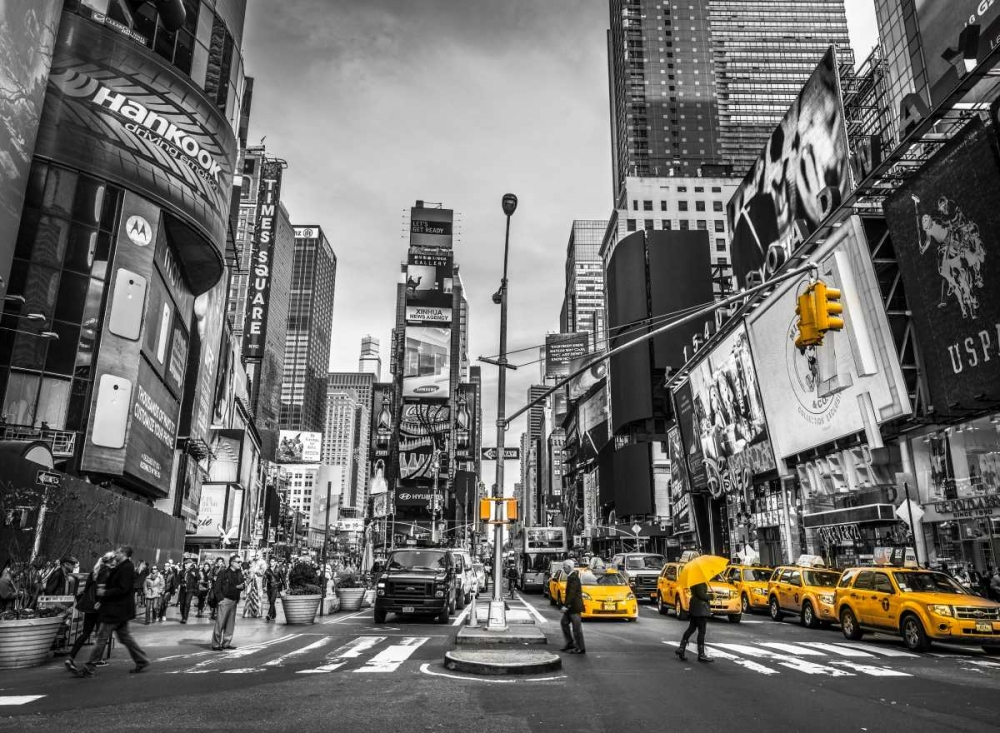 Traffic signal on broadway Times Square, Manhattan, New York City Frank, Assaf 103488