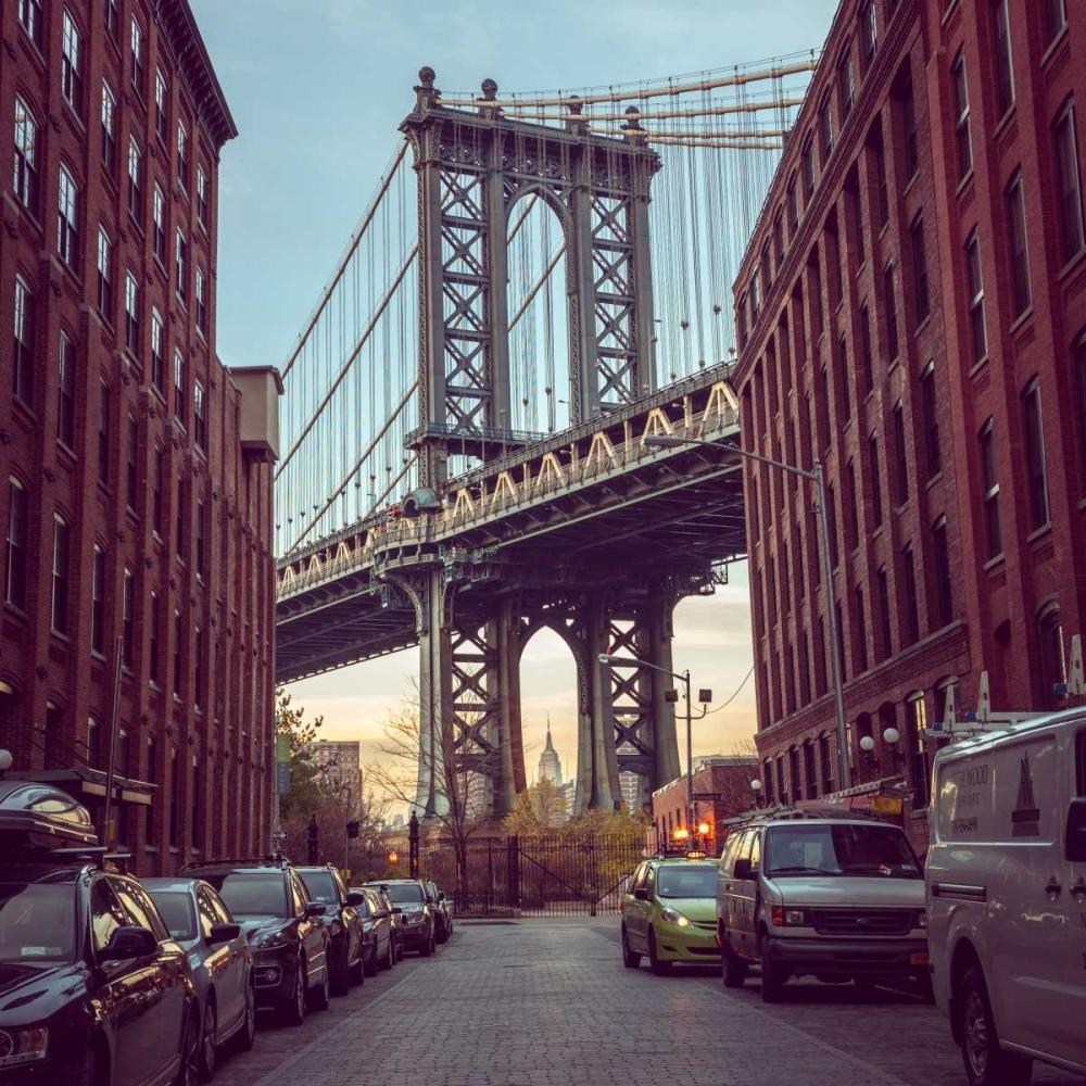 Manhattan Bridge seen from the Dumbo neighborhood in Brooklyn, New York Frank, Assaf 103495