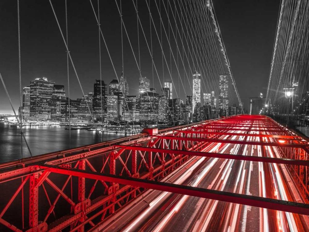 Brooklyn Bridge in evening, New York Frank, Assaf 103537