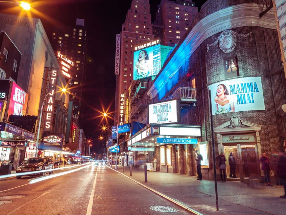Times square and Broadway at night - New York City Frank, Assaf 103557