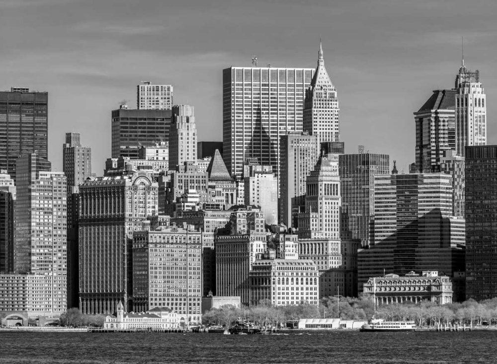 Lower Manhattan Skyline with skyscrapers, New York Frank, Assaf 103588