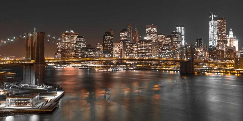 Brooklyn Bridge with Manhattan skyline, New York Frank, Assaf 103595