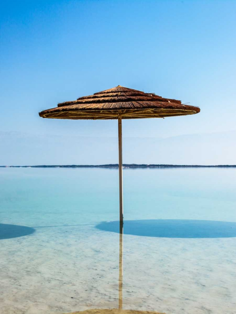 Bathing canopy on the beach on the Dead Sea, Israel Frank, Assaf 103601