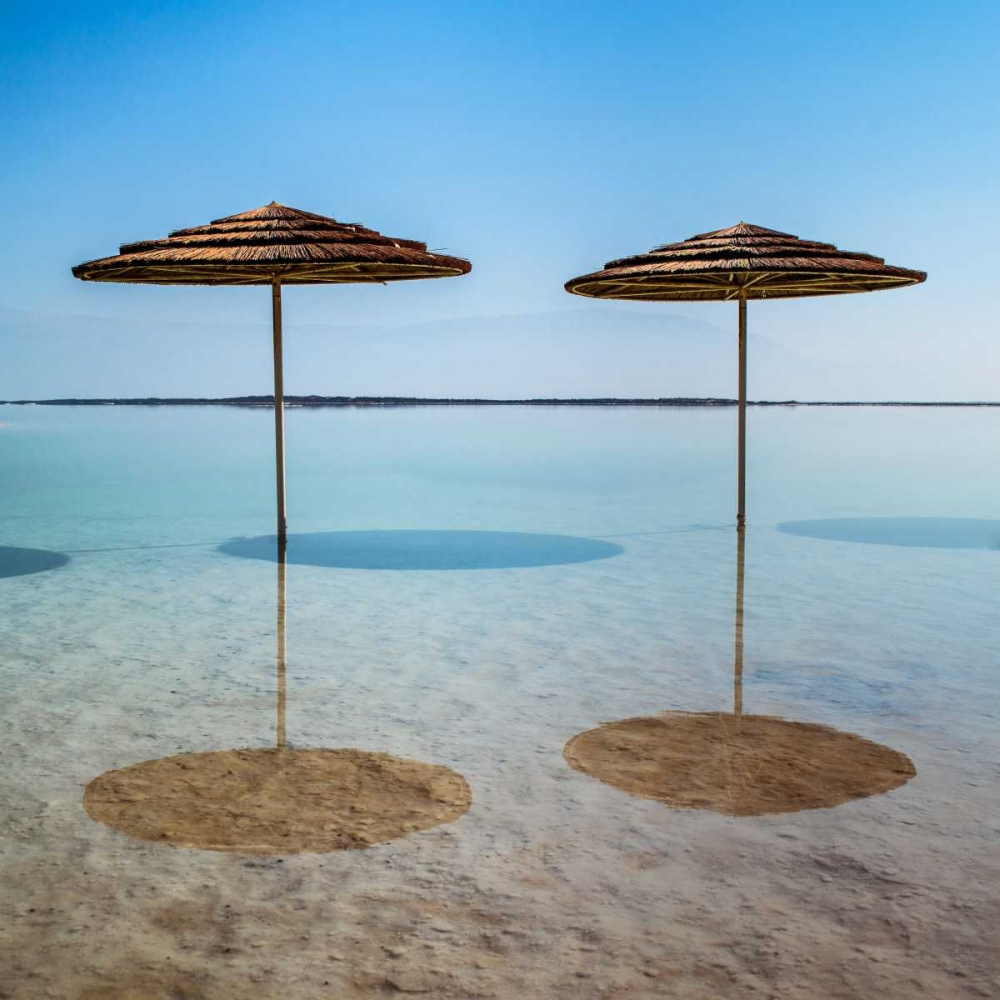 Bathing canopy on the beach on the Dead Sea, Israel Frank, Assaf 103604