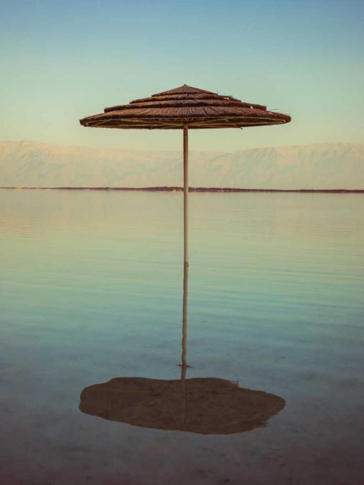 Parasol on beach of Dead Sea, Israel Frank, Assaf 103605