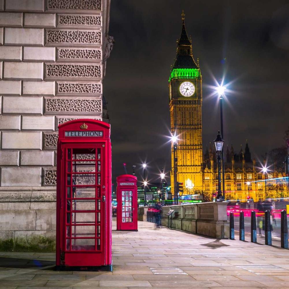 Telephone box with Big Ben, London, Uk Frank, Assaf 103633