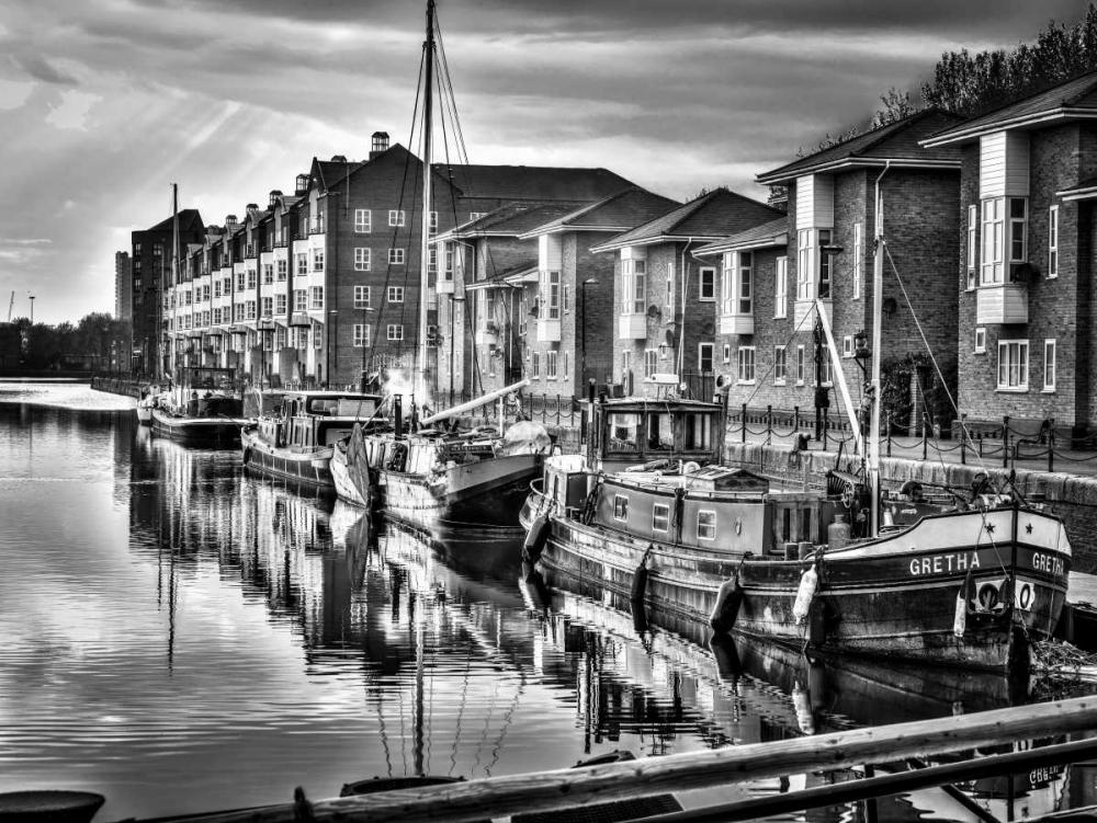 Boats moored at Greenland Dock, Surrey Quays Frank, Assaf 103638