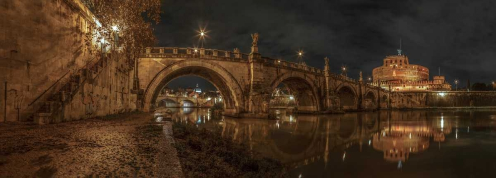 View of Castle St Angelo in Rome, Italy Frank, Assaf 103732