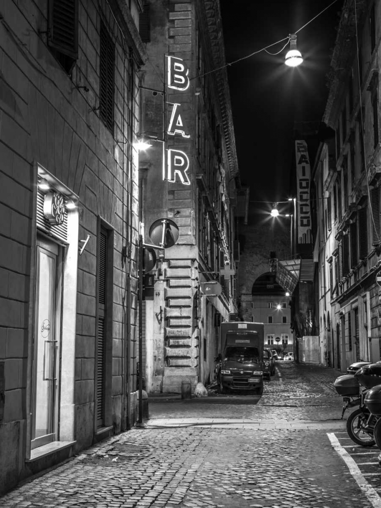 Vehicles parked on narrow city streets of Rome, Italy Frank, Assaf 103742