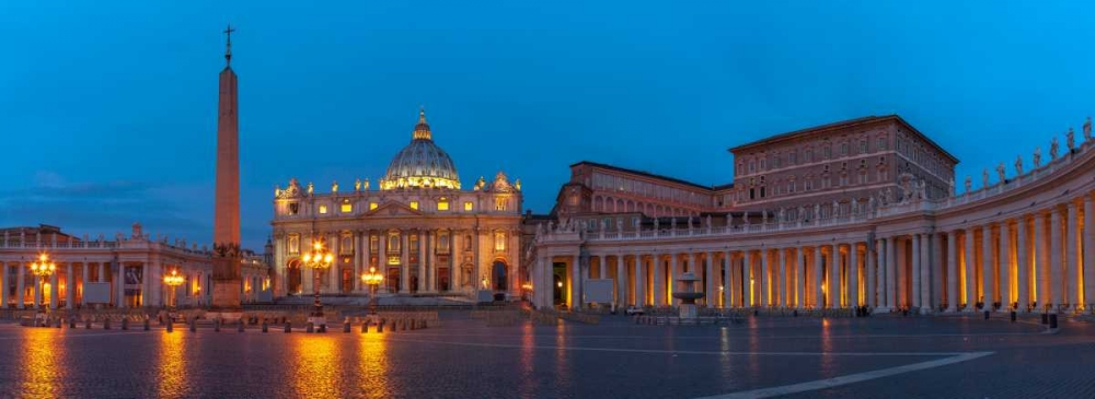 St. Peters Square at the Vatican City, Rome, Italy Frank, Assaf 103746