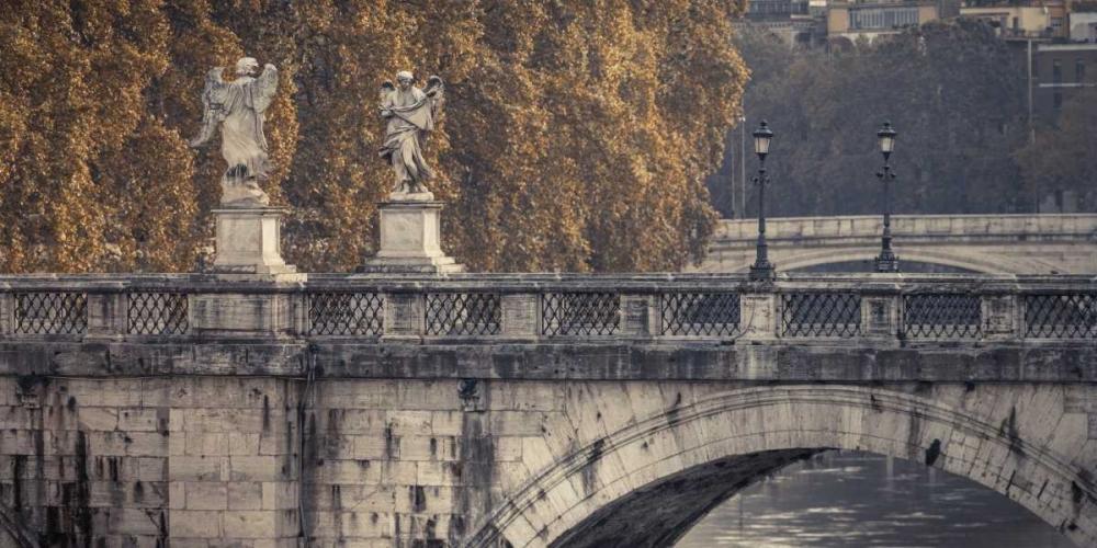 Saint Angelo bridge and Tiber River, Rome, Italy Frank, Assaf 103759