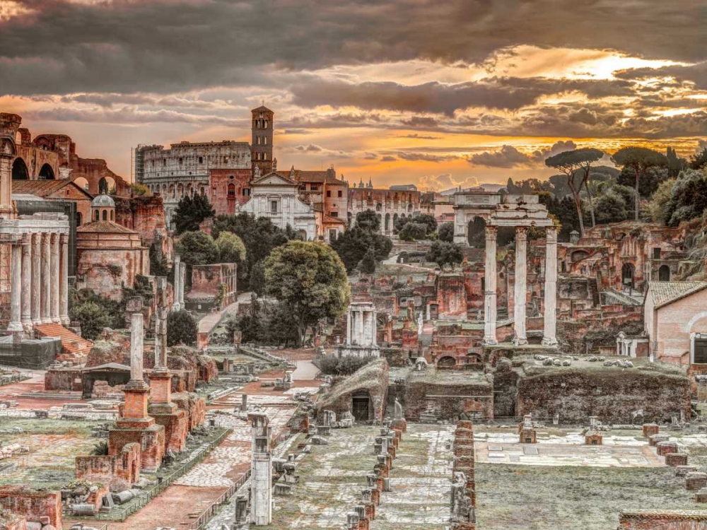 Ruins of the Roman Forum, Rome, Italy Frank, Assaf 103796