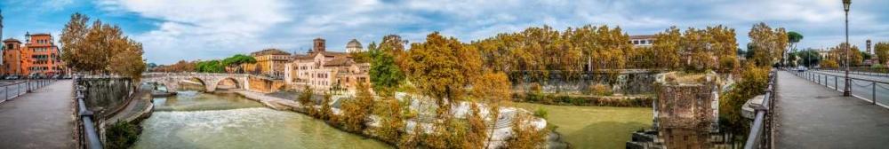 Tiber river through the city of Rome, Italy Frank, Assaf 103809