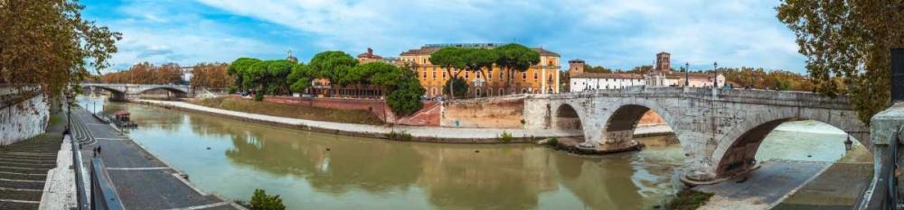 Tiber river through the city of Rome, Italy Frank, Assaf 103816
