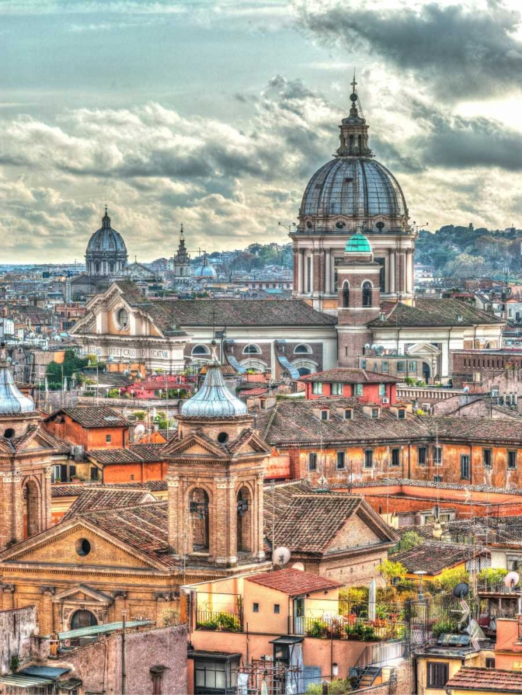 Vatican city with St. Peters Basilica, Rome, Italy Frank, Assaf 103823