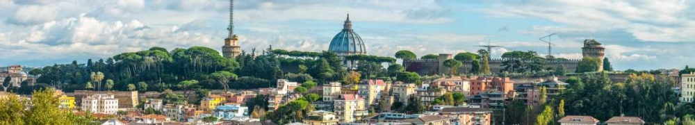 Vatican city with St. Peters Basilica, Rome, Italy Frank, Assaf 103839