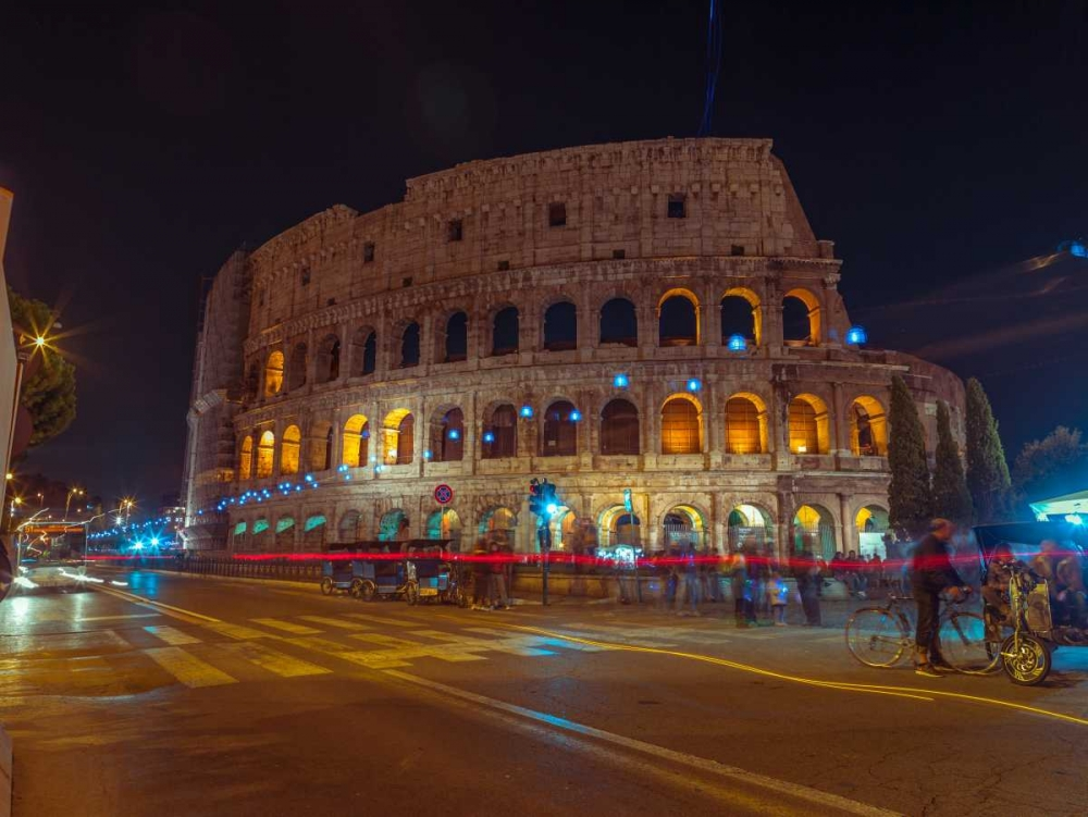 Famous Colosseum in Rome, Italy Frank, Assaf 103863