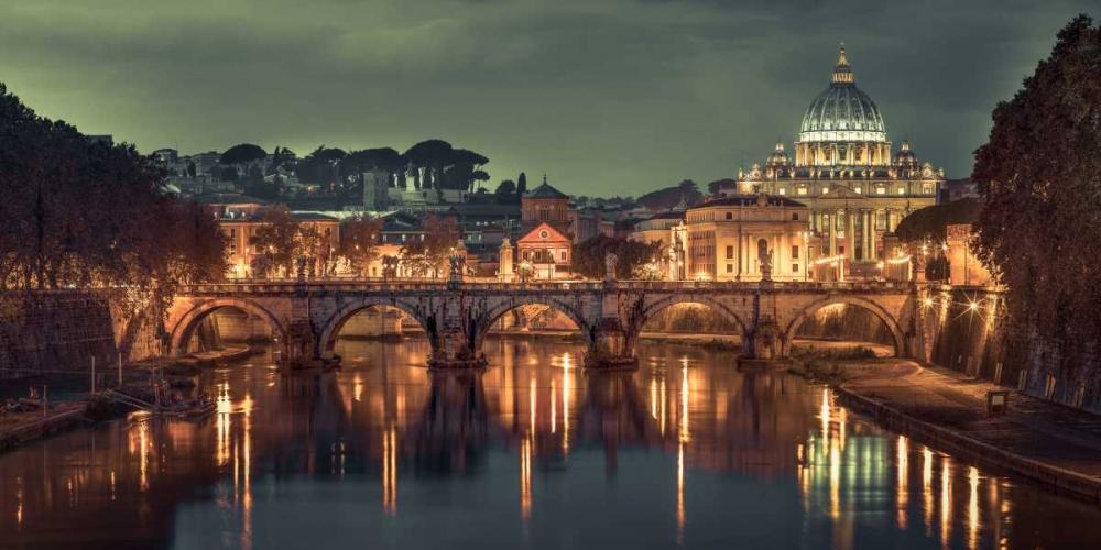 View of Basilica di San Pietro in Vatican, Rome, Italy Frank, Assaf 103864