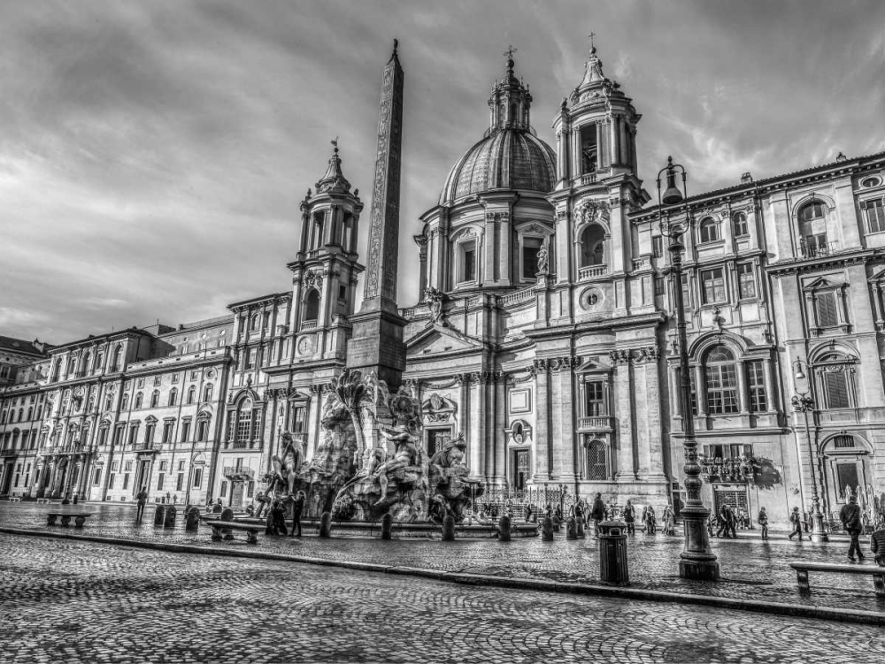 Piazza Navona and Fountain of Neptune. Rome, Italy Frank, Assaf 103871
