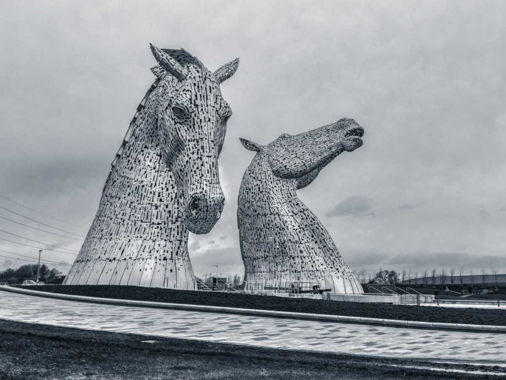 The kelpies horse statue at the Helix park in Falkirk , Scotland Frank, Assaf 104411