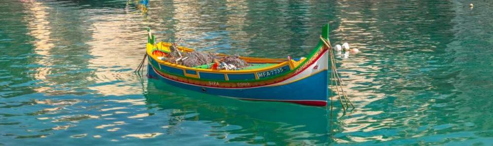 Colorful Maltese boats in St Julians bay, Malta Frank, Assaf 103930